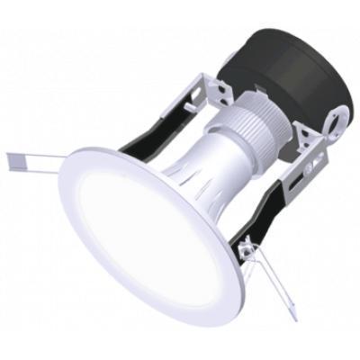 Bộ đèn LED downlight ES Điện Quang ĐQ LRD02 05765 90 (5W daylight 3.5 inch chụp phẳng mờ)