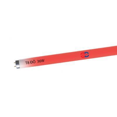 DDROYAL 1.2m T8 màu đỏ