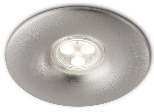 Ledino 69078 40K, nhôm, trắng LED